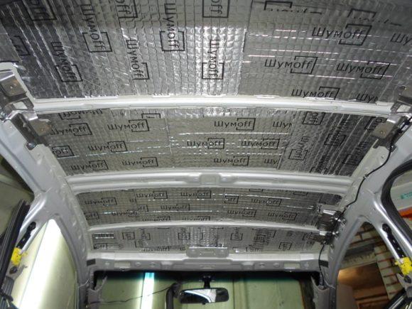 Шумоизоляция Киа Церато крыша