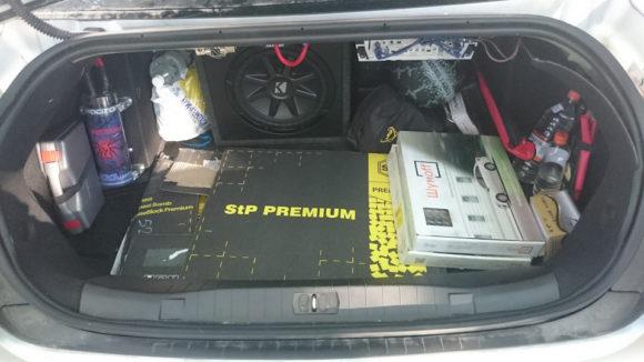 Багажник седана и его шумоизоляция